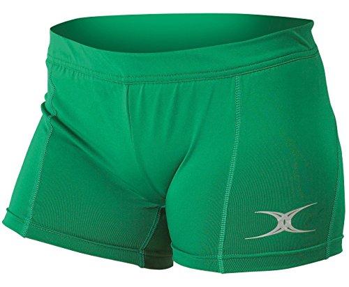 Gilbert Netball - Short de sport - Femme Vert - Vert