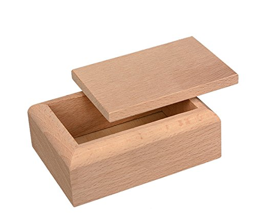 Truhe, Box Idee Bonboniere und decoupage, groß, cm 12x 8x 5, aus Holz -