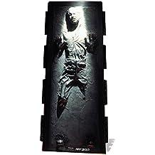 Han Solo carbonita de Star Wars–grande–cartón de/Tamaño Real