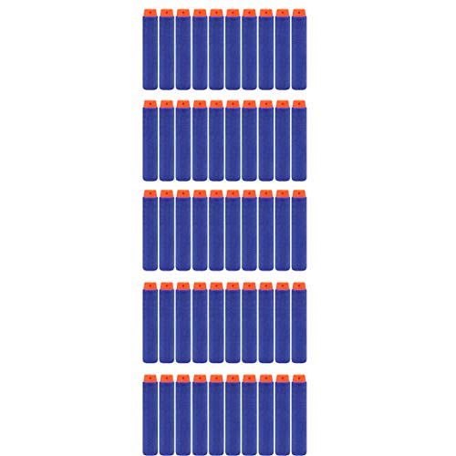 50 Balles en mousse bleue fléchettes balles en mousse élite NERF 7,3 cm jouets pour enfants