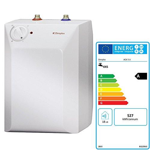 Druckloser Warmwasser-Kleinspeicher TecLINE TKS 5UG mit 5 Liter Nenninhalt / Untertischgerät / Niederdruck / Speicher / Warmwasserbereiter
