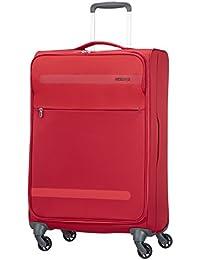 American Tourister Herolite Super Light Spinner Maleta, 67 cm, 68 Litros, Color Rojo