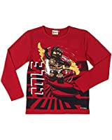 Lego wear Timmy 806 long sleeve T-Shirt - Dark Red - 4 years
