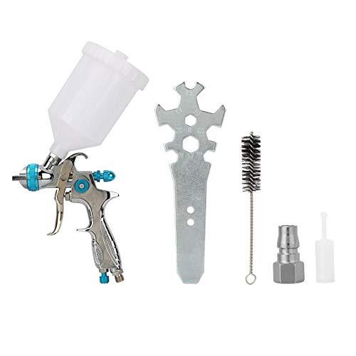 Lackierpistole, Schwerkraft pneumatische Möbel Spritzpistole, hohe Zerstäubung Farbe Blech Sprühwerkzeug Kaliber 1,4 mm Kaliber H887P -