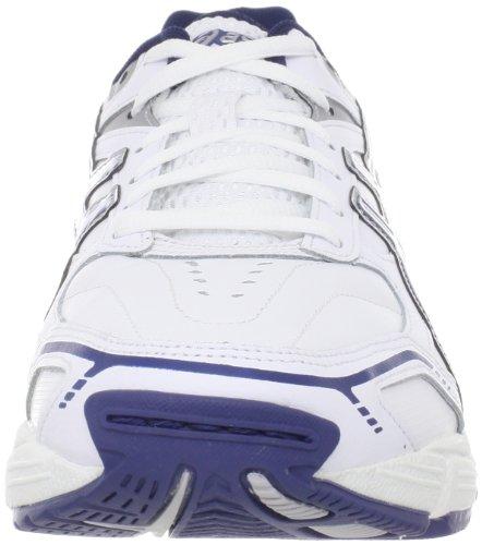 Asics , Chaussures multisports d'extérieur pour homme Blanc/bleu marine/argenté