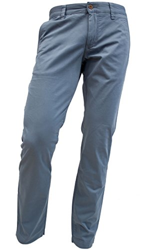 ALBERTO Garment Dyed Pima Cotton Chino Modell Lou in 33/32 (Pima-cotton-hose)