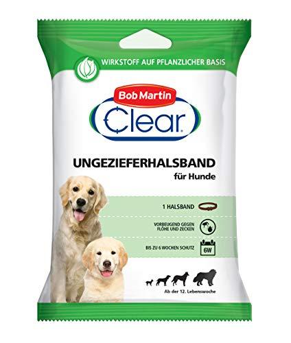 Bob Martin G2125 Clear Ungezieferhalsband für Hunde