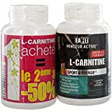 Eafit L-Carnitine Brûle-Graisses & Energie Lot de 2 x 90 Gélules