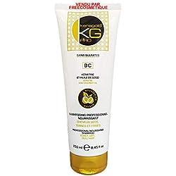 KERAGOLD PRO Shampoing BC sans Sulfates à la Kératine & Huile de coco 250ml
