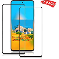 [2 Pack] Samsung Galaxy M31 Screen Protector,HD Clear 9H Hardness Scratch Resistant Tempered Glass Protective Film for Samsung Galaxy M31