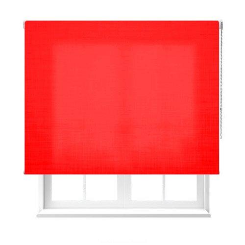 Estoralia - Estor enrollable de color rojo.
