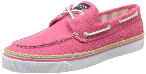 Sperry Bahama 2-Eye-PinkLinen Bootsschuh Segelschuh Sneaker Damen-7/37,5 Sperry Topsider Bahama