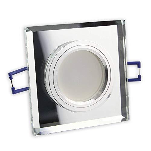 Foco LED empotrable 230 V GU10 - de cristal en aspecto elegante...