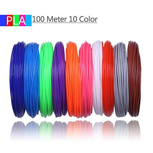 FAN-MING-N-3D, filamento de Impresora 3D de 10 Colores, 100...