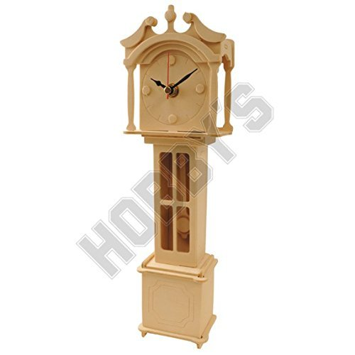 Großvater Uhr: Holz-Handwerk Montage Holzbau Clock Kit -