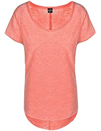 Sublevel Vintage Damen T-Shirt   Elegantes Shirt mit Used Washed Effekt