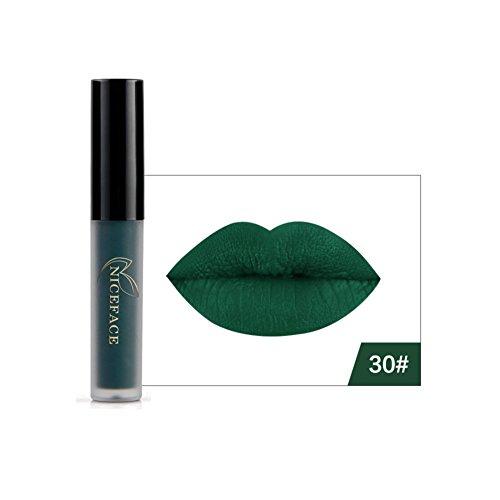 Lucidalabbra Volumizzante clifcragrocl,Stile di Halloween Rossetto Opaco Rossetto Liquido Lip Gloss Donne Del Partito Cosmetici - 30#