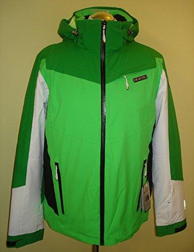Icepeak Herren Ski Jacke Nergui 56111 48 Optic White