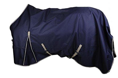 HKM 72856900.0021 Weidedecke EcoLight Summer Rain, dunkelblau