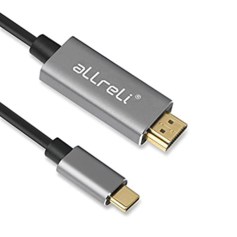 Type-C 3.1 zu HDMI Kabel, aLLreLi USB C auf DisplayPort Kabel 4K@60Hz Für the 2016 MacBook Pro, 2015 MacBook, ChromeBook Pixel, Samsung Galaxy S8/S8 Plus etc