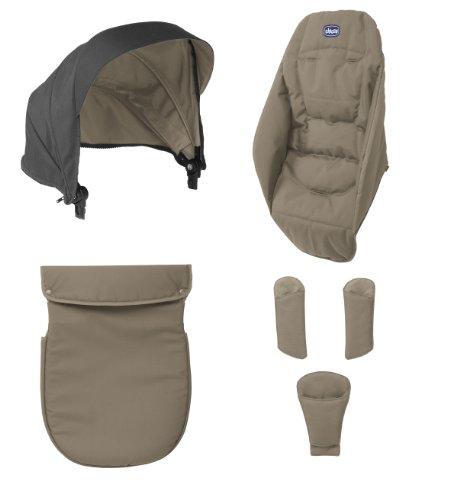 Chicco Urban Color Pack - Kit de accesorios para silla de paseo, color beige