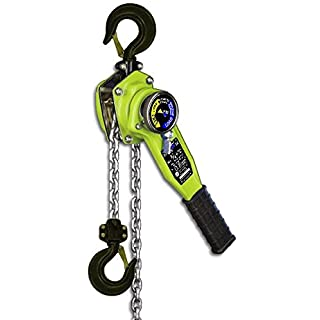 All Material Handling LA008-10 Lever Chain Hoist, 3/4+ (0.8) Ton, 10' Lift