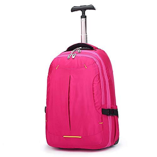 Rucksack mit Trolley Mädchen Schulrucksack für Kinder 30x20x50cm Rosa