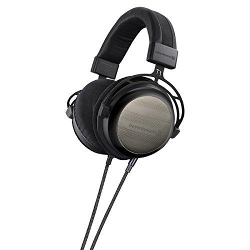 Beyerdynamic T12nd Generation HiFi Stereo-Kopfhörer mit dynamischen halboffenen Design schwarz thumbnail