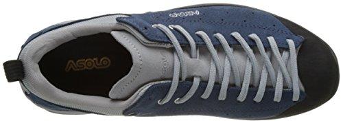 Asolo Shiver Gv MM, Chaussures de Randonnée Basses Homme Bleu (Denim Blue)