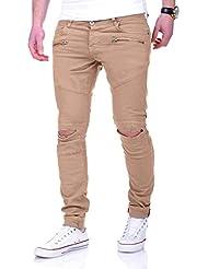 MT Styles Biker Jeans Slim Fit Chino-pantalon RJ-2010
