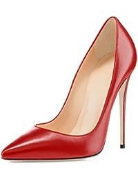 Amazon.it  decolletè rosse  Scarpe e borse 67b3cc03301