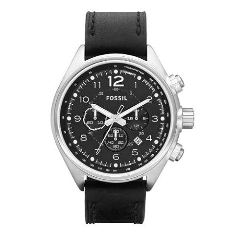 Fossil Herren-Armbanduhr XL Sport Analog Leder CH2801