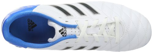 adidas Performance 11Questra TRX FG J-0, Chaussures de foot homme Blanc - Running White FTW/Black I/Solar Blue II