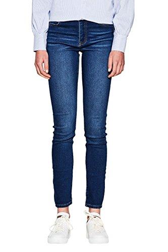 edc by ESPRIT Damen Skinny Jeans 107CC1B022 Blau (Blue Dark Wash 901), W25/L32