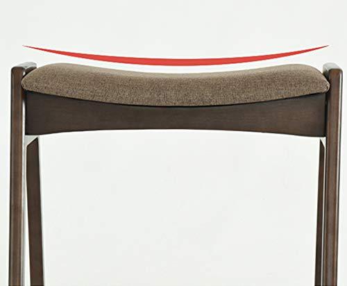 Sgabello trucco sgabello per la casa legno massello imbottito a
