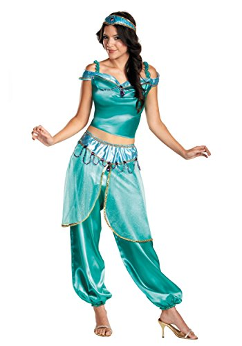 Adult Jasmine Fancy dress costume Large ()