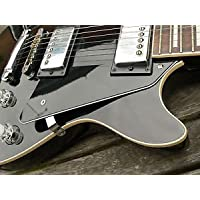 Cebra Negro Audio Medusas Golpeador De 3 Capas Scratchplate Para Gibson Les Paul Guitarra LP