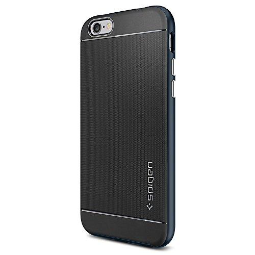 Spigen Coque iPhone 6 [BOUTONS AVEC EFFET METALLISE] Protection iPhone 6 [Série Neo Hybrid] [Champagne Gold] Coque Bumper fine pour iPhone 6 (2014) - Champagne Gold (SGP11035) Métal Slate
