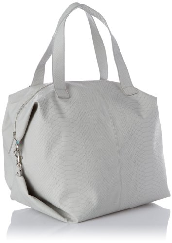 Friis & Company Talin Big Bag - Light Grey, Borsa a mano donna Grigio (Grau (Hellgrau 015))