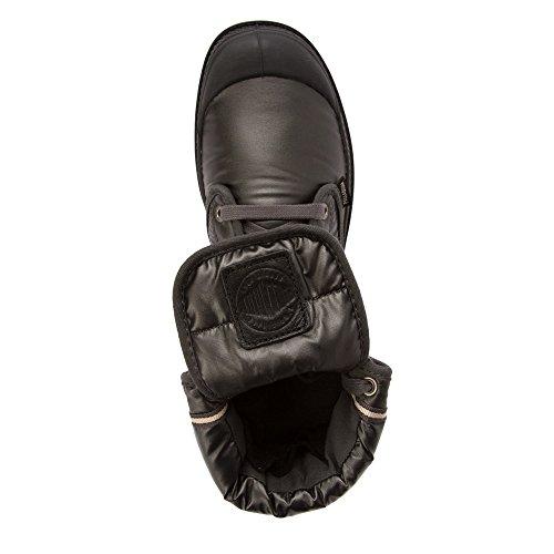 Palladium Womens Pallabrouse Baggy Explorer Textile Boots Noir - Noir