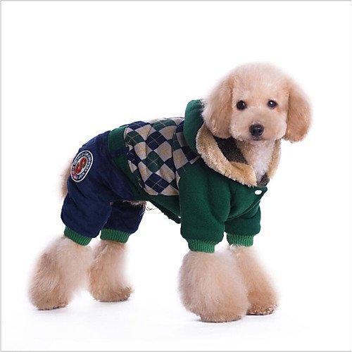 tel Kapuzenshirts Overall Kaltfeste Kleidung Hundekleidung Lässig/Alltäglich warm halten nette Art Weihnachten Britisch Rot , red , m (Britische Roten Mantel)