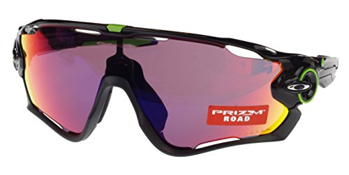 Oakley Jawbreaker Prizm Road-Occhiali da sole, Oo 9290-10, Cavendish Edition, colore: nero lucido, misura A