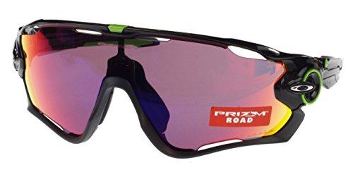 Oakley JAWBREAKER Prizm carretera Gafas de sol, oo9290–10, Cavendish Edition, negro pulido, X Large Fit