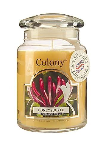 Colony Große Duftkerze im Glas, Duft