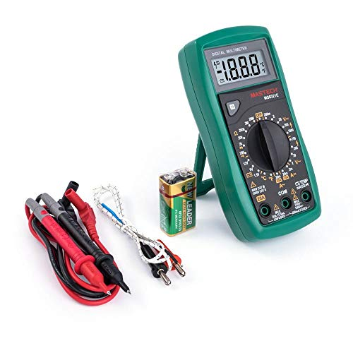 MS8321E MASTECH Digital Profi Hand-Multimeter A/V/Ohm/Temperatur Batterietest -