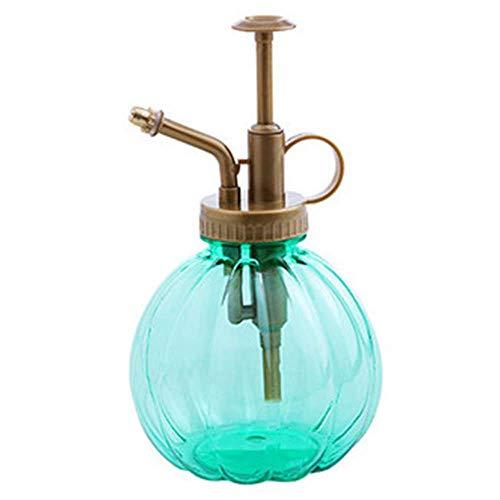 -blumensprühflasche, Premium-qualität Wassersprühflasche Vintage-Stil Transparent, Kleine Kürbis-Spray (DREI Stück),Green ()