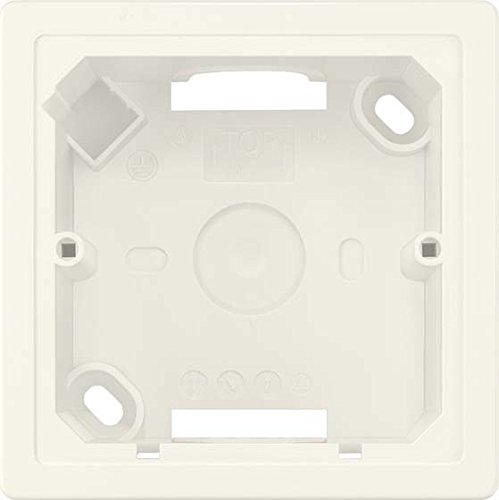 BJC Delta line-miro BL.–Box oben 84x 84x 42,5Delta Line weiß Titan (Delta Box)
