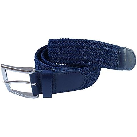 Streeze 35mm Cintura Elasticizzata Intrecciata Fibbia in