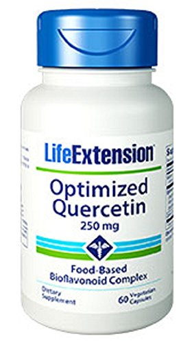 Life Extension, Quercétine Optimisée, 250 mg, 60 Capsules végétales