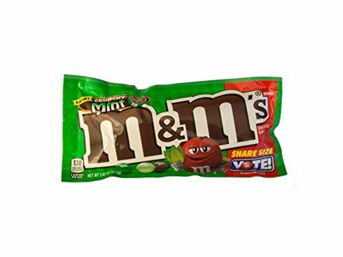 M&M´s Crunchy Mint (80,2g) -